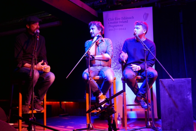 Conversation entre Myles O'Reilly (Arbutus Yarns), Christophe Abric (Blogothèque), Brendan Canty (Feel Good Lost)